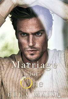 marriage for one cover